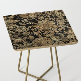 Fabric Side Table