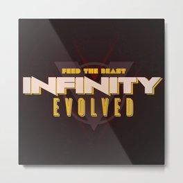Infinity Evolved Metal Print