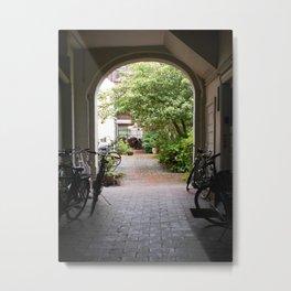Odense Photograph | Urban City Landscape | Archway Art Print | Inner City Living Metal Print