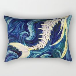 Flying Fish Rectangular Pillow