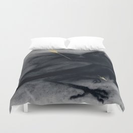 Death of insight Duvet Cover