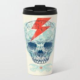 Skull Bolt Metal Travel Mug