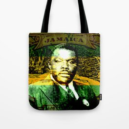 Marcus Garvey Jamaican Freedom fighter Tote Bag