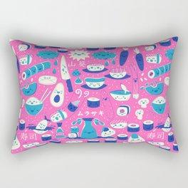 Sushi fun park Rectangular Pillow