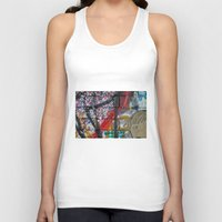 sparkles Tank Tops featuring bricks & sparkles by AntWoman