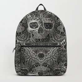 Lace Skull Backpack