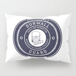 Whiskey & Cigars (Navy) Pillow Sham