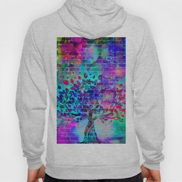 wall graffiti Hoody