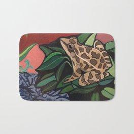 Lowlands Leopard Frog Bath Mat