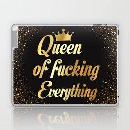 Queen Of Fucking Everything Laptop & iPad Skin