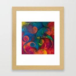 The Vision of Desire Framed Art Print
