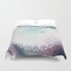 RAINBOW CHIC MANDALA Duvet Cover