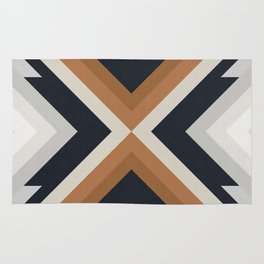 Geometric Art with Bands 03 Rug