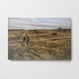 Camino to Santiago de Compostela, Spain Metal Print