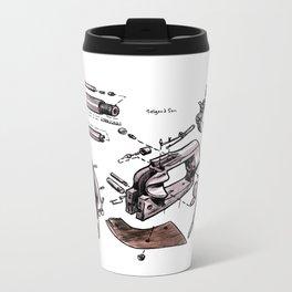 Exploded Gun Metal Travel Mug