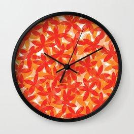 quando eu flor  Wall Clock