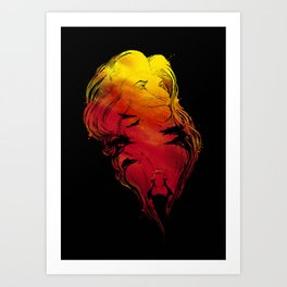 The Rise of The King Art Print