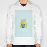 gumball Hoodies featuring SSJ Gumball by Miles Cameron