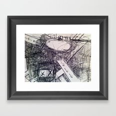 BETH Framed Art Print