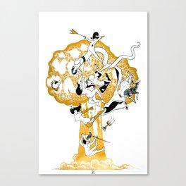 The Conqueror Wurm Canvas Print