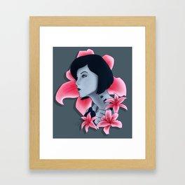 The Beauty of Cortana Framed Art Print