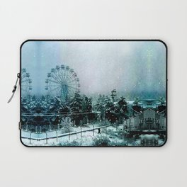 Cold Forest Playground Laptop Sleeve