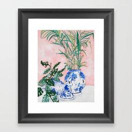 Friendship Plant Framed Art Print