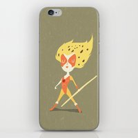 thundercats iPhone & iPod Skins featuring Cheetara  by Rod Perich