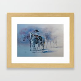 Cowboy Jr II Framed Art Print