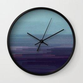 Glitched v.9 Wall Clock