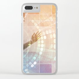 Fitness Training and Goals or Targets as Sports Concept Clear iPhone Case