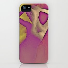 SHAPES IN THE CLOUDS iPhone Case
