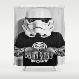 Knuckle Up Shower Curtain