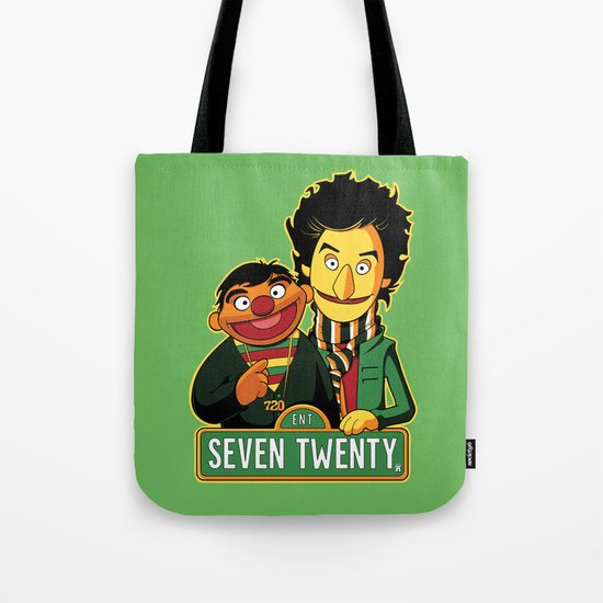 E is for Entertainment Tote Bag