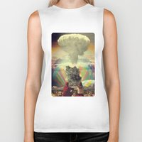 eugenia loli Biker Tanks featuring As We Know It by Ryan Haran