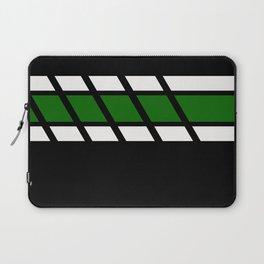 Team Colors 4...Green Laptop Sleeve