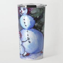 Even a Snowman needs their Mommy Travel Mug