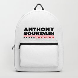 ANTHONY BOURDAIN - PARTS UNKNOWN Backpack