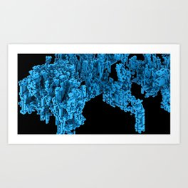 Cellular Automata 02 Art Print