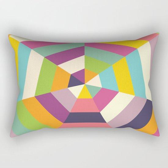 Heptagon Quilt 1 Rectangular Pillow