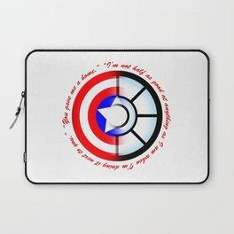 SteveTony - Encircling Quotes Laptop Sleeve