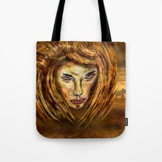 The King of Africa Tote Bag