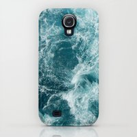 Samsung Galaxy S4 Case featuring Sea by Vickn