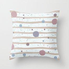 Balls Throw Pillow