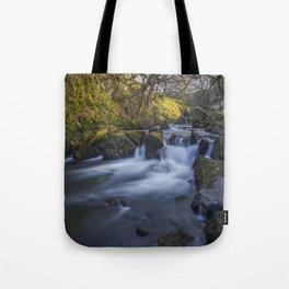 Nant Ffrancon Pass River Tote Bag