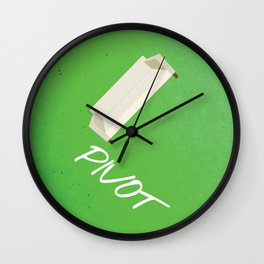Friends 20th - Pivot Wall Clock