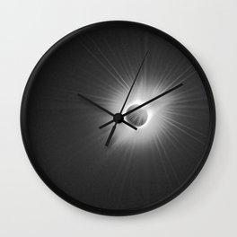 Solar Eclipse -2017 Wall Clock