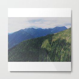 mountains love you Metal Print
