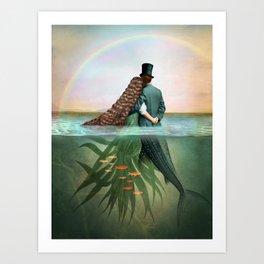 Rainbow View Art Print