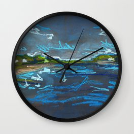 Intracoastal Waterway Wall Clock